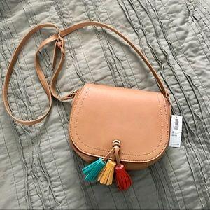 Handbags - Tassel Crossbody Bag